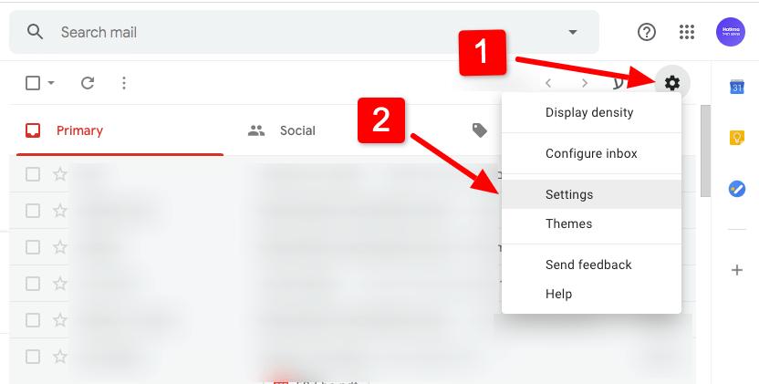 איך להוסיף כמה חתימות במייל Gmail